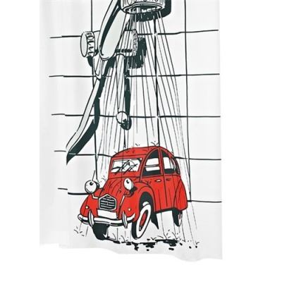 '2CV' Car Shower Curtain