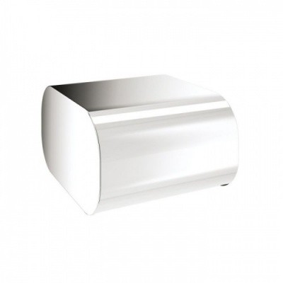 Outline Toilet Roll Holder with Cover