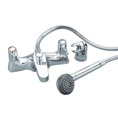 Skara Value Quarter Turn Lever Bath Shower Mixer Taps