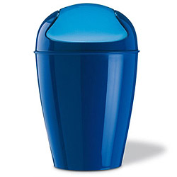 Koziol Swing Top Bin - Blue