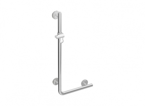 HEWI L-shaped Support Rail with Shower Head Holder | WARM TOUCH