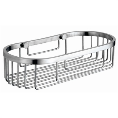 Nofer Stainless Rectangular Hotel Bathroom Basket