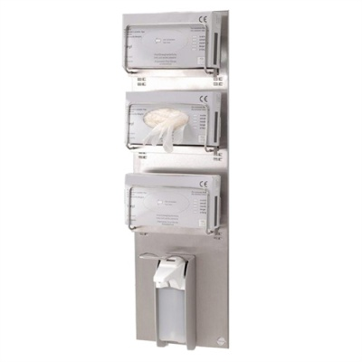 Bracket Glove Hygiene & Handwash Station