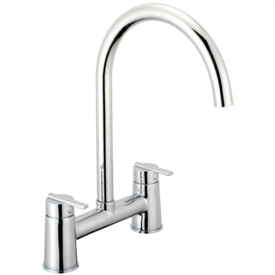 Pegler Pulsar Contemporary Bridge Sink Mixer