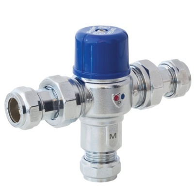 Pegler TMV2/3 Thermostatic Mixing Valve - 15/22mm