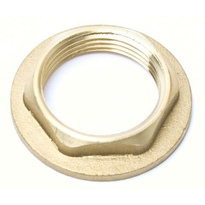 Brass Threaded Backnuts