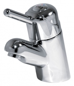 Intatherm 'Easy Grip' Anti-Scald Sequential Basin Tap
