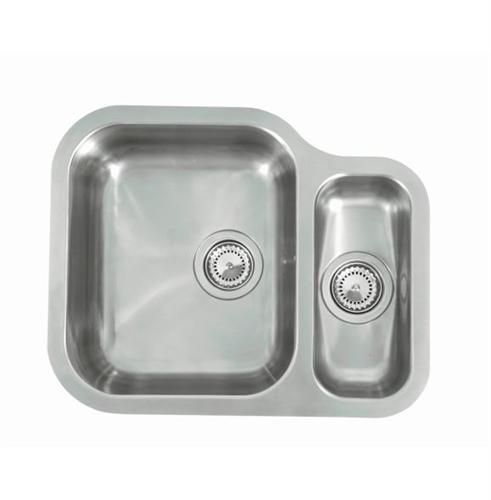 Reginox Contemporary Undermount Kitchen Sink 1 5 Bowls