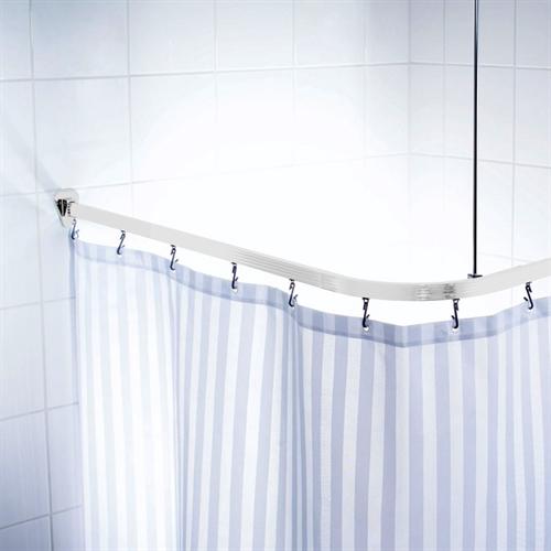 Universal Shower Curtain Track