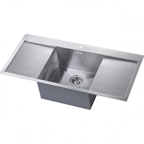 zen 45 double drainer sink - Double Drainer Kitchen Sink