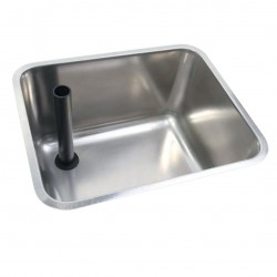 Metric Undermount Sink With Upstand Waste