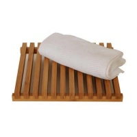 Arena Natural Bamboo Slatted Shower Mat