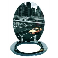 The Famous Cities Toilet Seat - New York