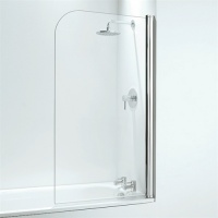 Curve Overbath Shower Screen