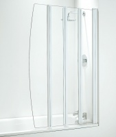 Quad Folding Bath Shower Screen