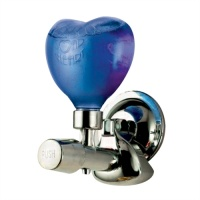 Funky Heart Suction Soap Pump - Blue