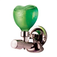 Funky Heart Suction Soap Pump - Green