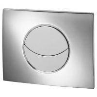 Wirquin Moon Dual Flush Push Plate