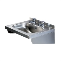 Pland Stainless Rectangular Handrinse Basin With Contract Taps