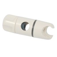 Replacement 'Twist & Lock' 19mm Universal Shower Head Slider - WHITE