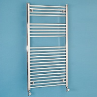 Maree 500 x 1120mm Straight Chrome Heated Towel Rail