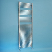 Maree 600 x 1760mm Straight Chrome Heated Towel Rail