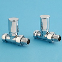 Alliance Bathroom Radiator Valves - Straight