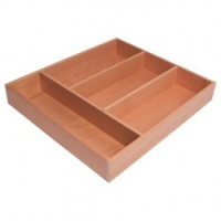 The Classic Beech Cutlery Tray
