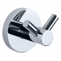 Niza Polished Double Robe Hook