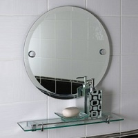 Tricolor Bathroom Wall Mirror