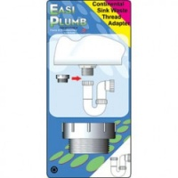 Easi-Plumb Continental Waste Thread Conversion - 1.5'' to 1.5''