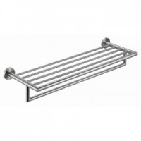 Nofer Stainless Towel Shelf With Arm