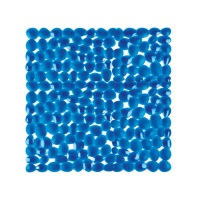 Pebble Bath & Shower Mats - Blue