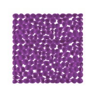 Pebble Bath & Shower Mats - Purple