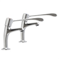 Levatap Extended Lever High Neck Sink Taps (pair)