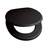 The Standard Collection Mouldwood Toilet Seat - Black