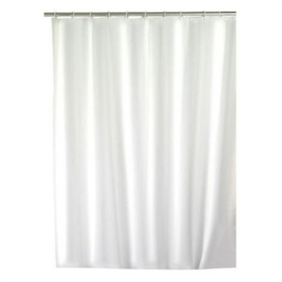 Hotel Series Narrow Shower Curtain (120cm) - White