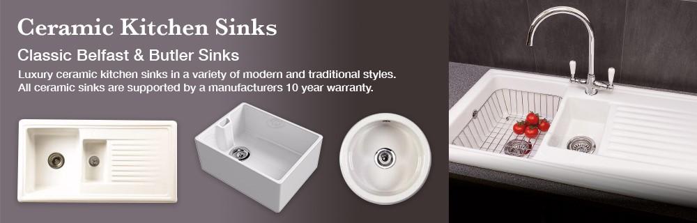 Ceramic Kitchen Sinks Belfast Butler Sinks Notjusttaps