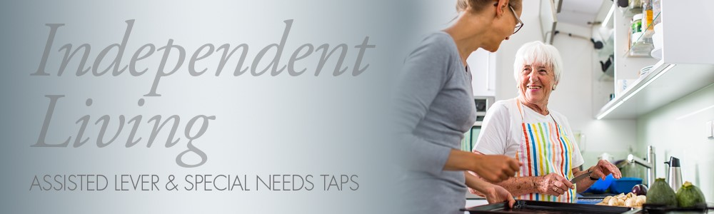 Kitchen taps for independent living