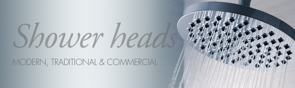 overhead fixed shower heads
