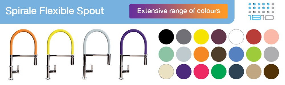 Coloured Kitchen Taps