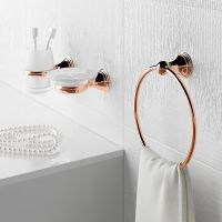 Genoa  Traditional Rose Gold Accessories