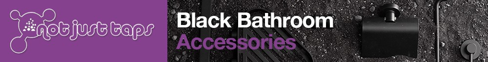 luxury black bathroom accessories