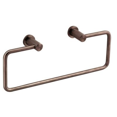Satin Steel Towel Holder