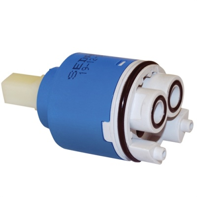 40mm Replacement Open Outlet Ceramic Disk Tap Cartridge