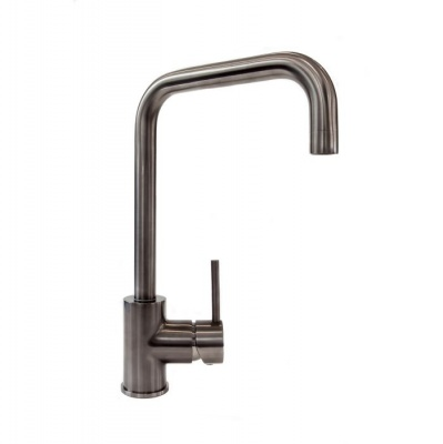 Rion Single Lever Kitchen Tap - Gun Metal Finish
