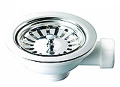 Macdee Sink Basket Strainer Waste With Overflow
