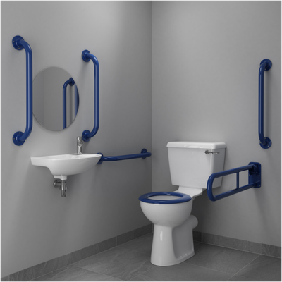 Care-Series Lever Doc M Toilet Pack - Close Coupled