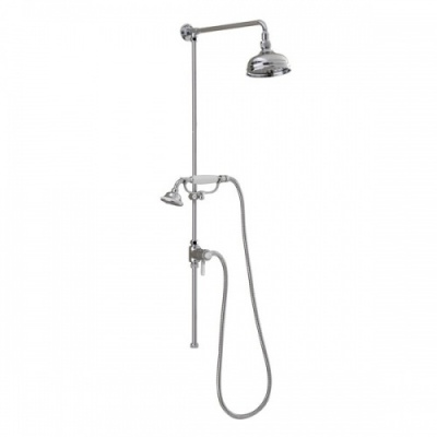 Churchman Traditional Rigid Riser Shower Kit