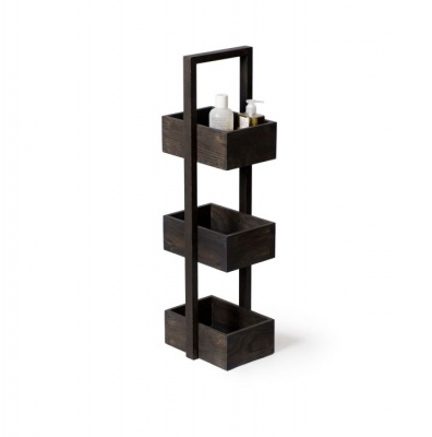 Mezza Dark Oak Storage Caddy
